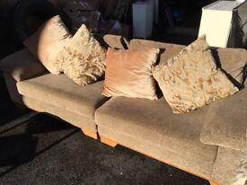 leekes 4 seater sofa