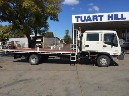2004 Isuzu FRR550 Dual Cab Tray Top Truck Tuart Hill Stirling Area Preview