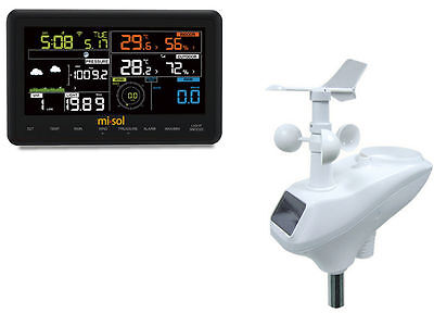 Wireless weather station connect to WiFi, upload data to web weathercloud,