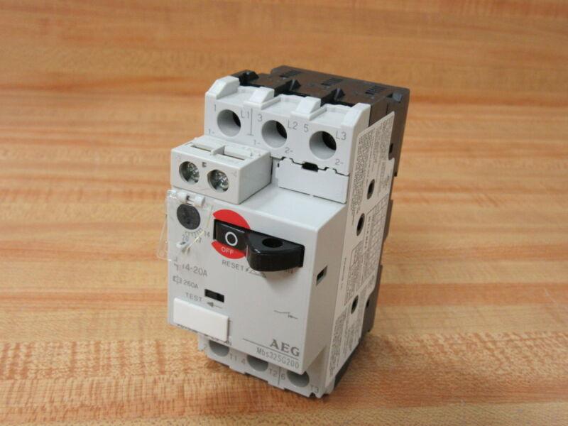 AEG Mbs32SG200 Manual Motor Starter