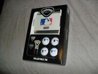 MLB Baseball Golf Balls and Marker Set Callaway