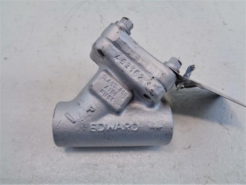 """Flowserve Edward 3/4"""" SW 800# A105 Bolted Bonnet Piston Check Valve A838Y"""