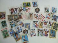 "RARE Baseball1984 Fleer ""blank backs""/82 Gary Carter,N.Ryan etc"