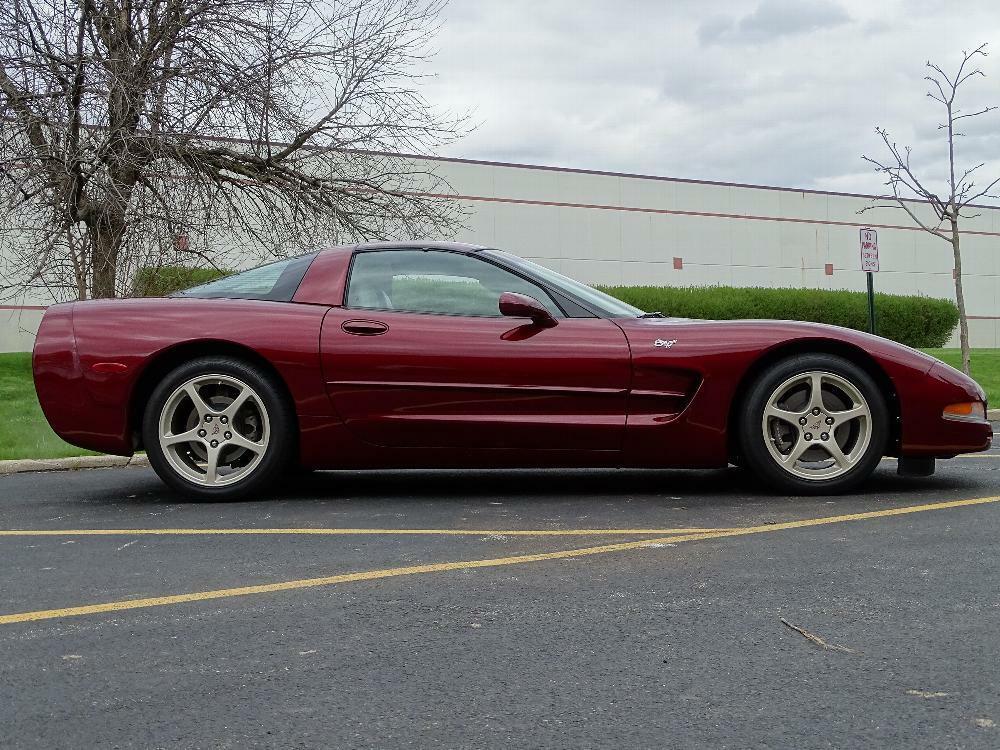 2003 Red Chevrolet Corvette     C5 Corvette Photo 8