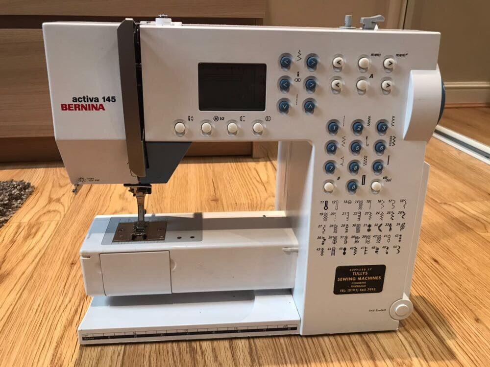Bernina Activa 40 Sewing Machine In Stanley County Durham Gumtree Mesmerizing Bernina Activa 145 Sewing Machine