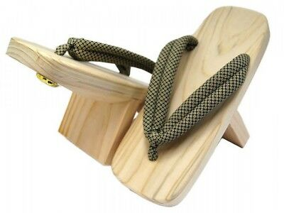Japanese Traditional Wooden One-tooth Tengu Geta Footware Japan with Tracking