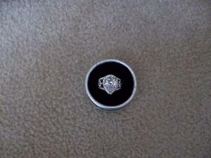 Pear Shaped Ring (Fashion Jewelry) - Brand new in box