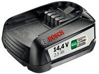 Bosch Batteria 14,4-volt Agli Ioni Litio Pba 14,4 V 2,5 Ah W-b, Systemzubehoer - bosch - ebay.it