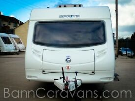 (Ref: 872) 2010 Model Sprite Quattro FB 6 Berth Touring Caravan