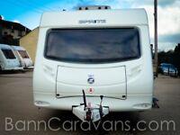 (Ref: 872) 2010 Model Sprite Quattro FB 6 Berth Touring Caravan