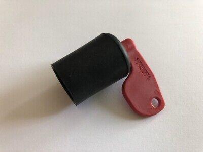 Set Of 3 Volvo Jcb Skid Steer Red Battery Master Disconnect Isolator Keys