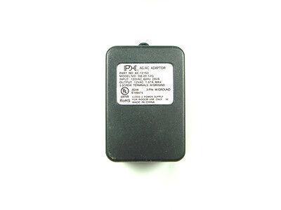 PHC 12V AC Adapter, AC-to-AC Power Supply, Wall Plug 1.67 Amp, 12VAC Transformer ()