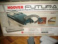 Hoover Futura Canister Vacuum Cleaner with Power Nozzle