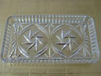 PINWHEEL   Crystal  Trinket TRAY