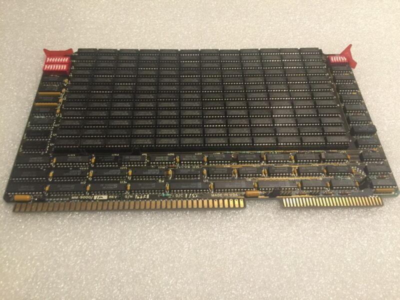 MICRO MEMORY CIRCUIT BOARD MM-9000 1M REV D VME Vintage