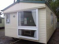 Static Caravan, Atlas Everglade Super, 35 x 12 ft / 2 Bedrooms, Double Glazing & Central Heating