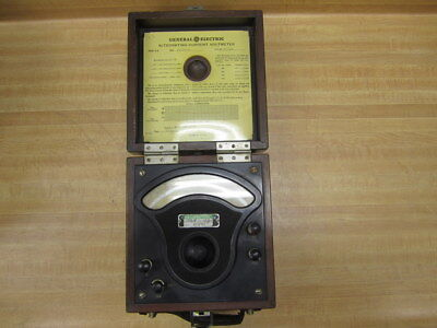 General Electric 2615914 Vintage Industrial Ac Volt Meter Antique