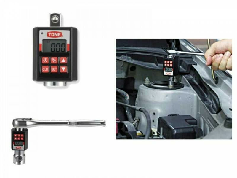 "TONE H4DT200 1/2"" Handy Digital Torque Measuring Equipment 20-200 N/m From Japan"