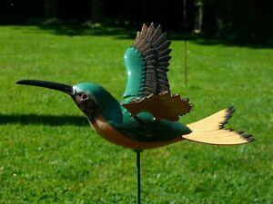 Flying Hummingbird Garden Stake, flapping hummingbird wings Oakville / Halton Region Toronto (GTA) image 4