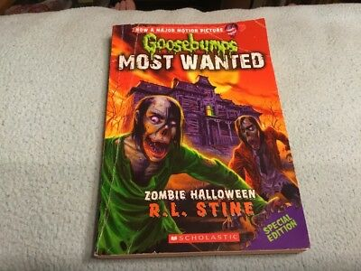 Zombie Halloween (Goosebumps Most Wanted Special - Zombie Halloween Rl Stine