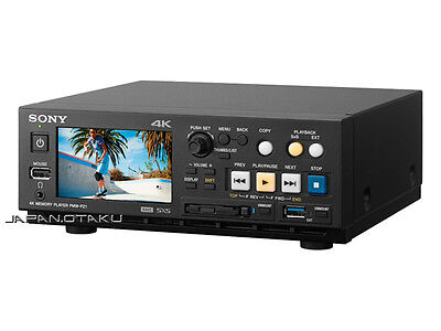 SONY 4K PMW-PZ1 60p XAVC MEMORY PLAYER JP MODEL Broadcast Professional