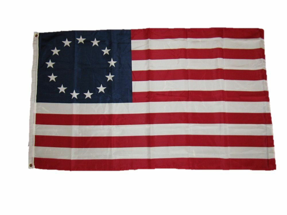3x5 U.S. Flag Store Betsy Ross Historical Flag 3'x5' Woven P