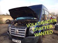 Volkswagen crafter van wanted