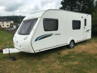 CARAVAN STERLING EUROPA 540 6 BERTH SINGLE AXLE 2009