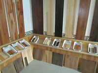 Planchers de bois  de $1 à $2,99 le pied carré