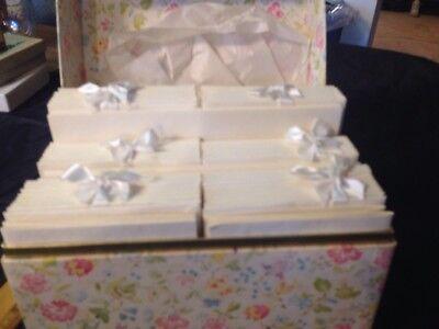 Club Parchment Box Set Samuel Ward Boston 84 Sheets 72 Envs Vtg 2 sizes wedding](Wedding Stationery Sets)