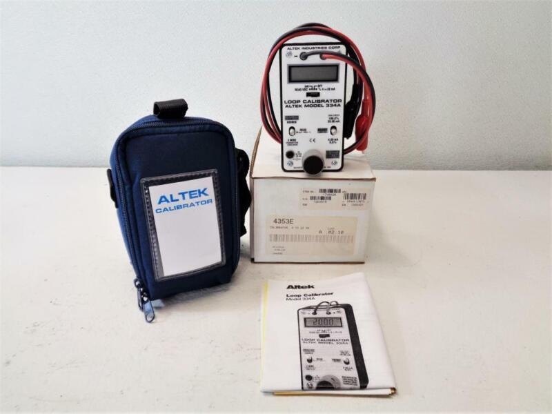 Altek 334A Loop Calibrator 4353E