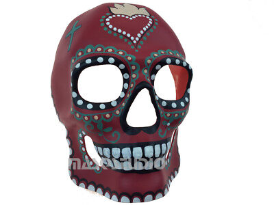 Sugar Skull Skeleton Masquerade Mask Costume Day of the Dead D? de Muertos Deco