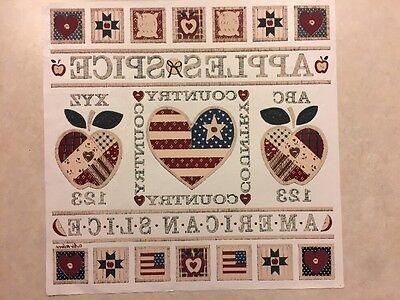 Vintage T-shirt Heat Transfer Americanaquiltusa Theme American Slice