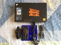 Sony Ericsson Cyber-shot K810i - Boxed Noble blue (Unlocked) Mobile Phone Retro