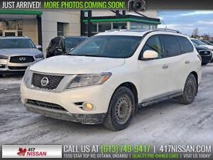 2014 Nissan Pathfinder Platinum | Navi, Leather, Dual Moonroof