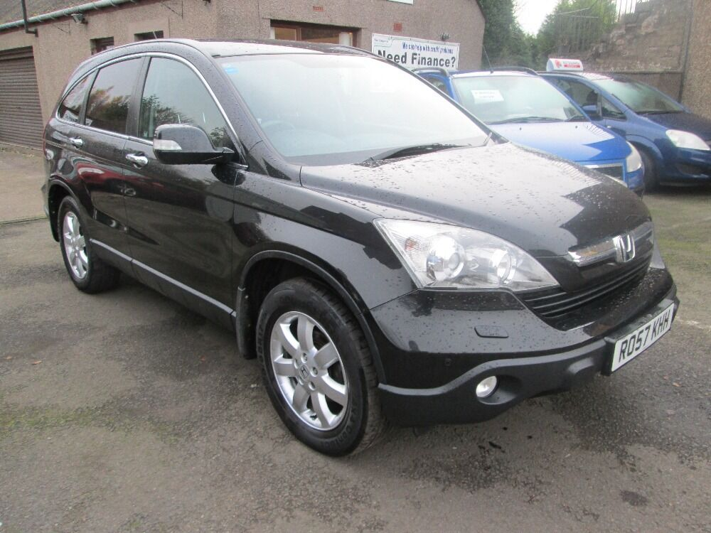 HONDA CR-V I-CTDI ES WITH ONLY 64884 MILES AND 7 SERVICE STAMPS (black) 2007
