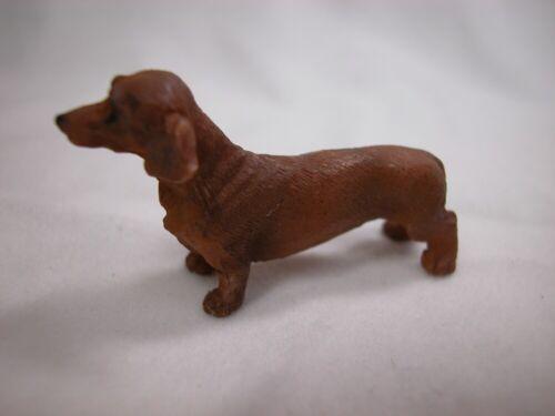 Heidi Ott  Miniature Animal 1:12 Scale Pet Dog Puppy Dachshund #XZ514 DB