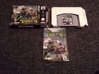 turok dinosaur hunter nintendo 64 n64 game