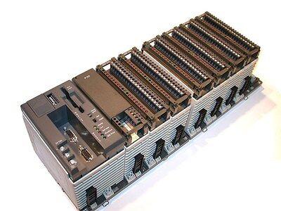 Modicon Aeg Cpu Io Plc Assembly Rack
