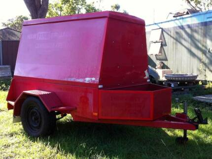 2009 St George Lockable Enclosed Trailer - Perfect for Tradies Cambridge Gardens Penrith Area Preview