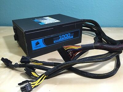 HX1000W Corsair Modular Power Supply - CMPSU-1000HX