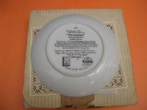 """""""THE MALLARD"""" COLLECTOR PLATE BY BART JENNER London Ontario image 2"""