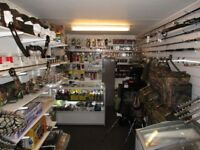 Hunting & Fishing Supplies full container shop for sale £10,000.00