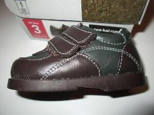 See Kai Run Brown Leather Baby Shoes, size 3 NEW in box Belleville Belleville Area image 2