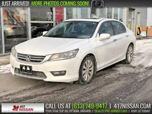 2015 Honda Accord EX-L | Leather Htd Seats, Sunroof, Rear Camera