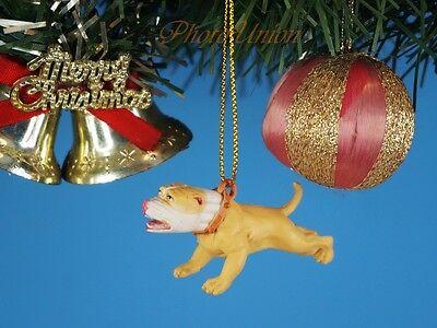 CHRISTBAUMSCHMUCK Hood Hounds Wicked Pit Bull Dog Ornament Home Deko K1285 Y (Pitbull Schmuck)