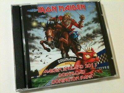 Iron Maiden Double CD Download Donington Maiden England Tour 2013