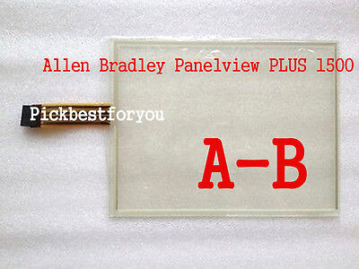 15 Allen Bradley Panelview 1500 2711p Touch Screen Glass 2711p-rdt15c H3599 Yd