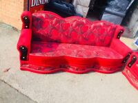 3+3 seater sofa beds settees in good condition free delivery