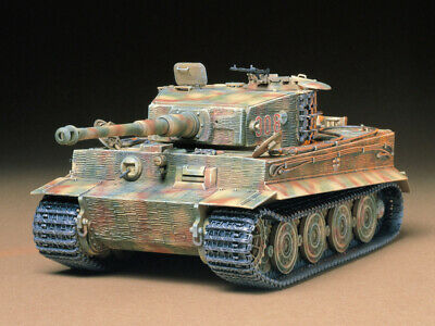 Tamiya 35146 Panzer Battle Tank Dt. SdKfz.181 PzKpfw.VI Tiger Model Bausatz 1:35
